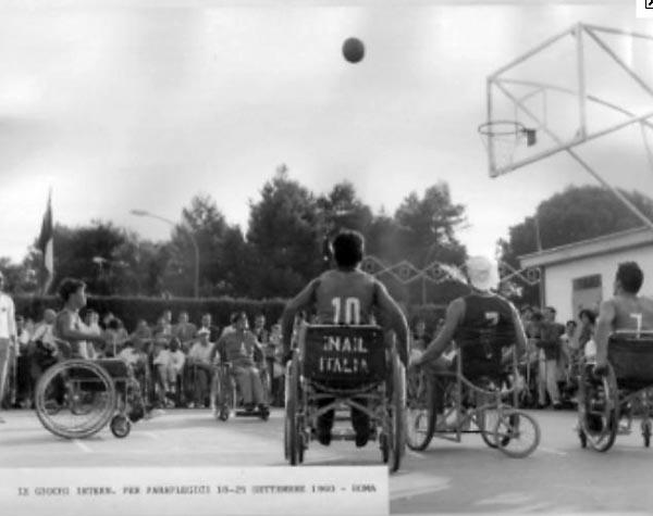 Storia paralimpiadi